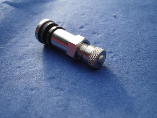 Metall Ventil 8,3 mm L38,5mm BBS,OZ Felgen Nickel
