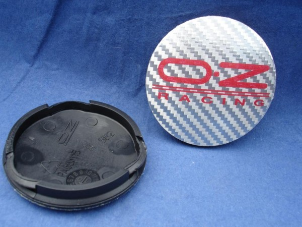 OZ Racing Nabenkappe Carbonlook Silber 81310444 M582