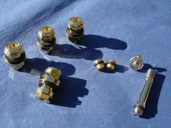 Unsichtbare Metallventile 11 mm 1 VPE vergoldet OptiVent