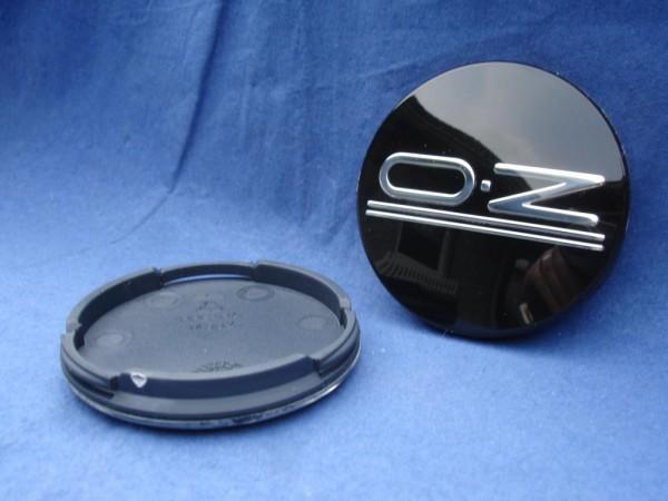 4er Set OZ Racing Nabenkappe Classic Black 81310464