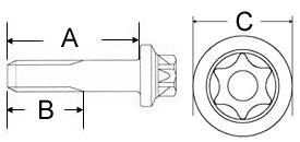 Felgen-schraube-M7x30-6-kant