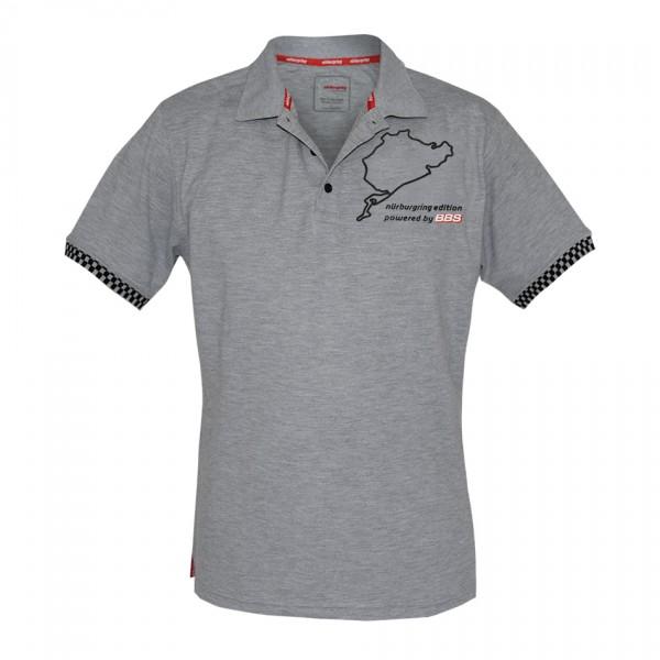 BBS Nürburgring Edition Poloshirt Grau Herren