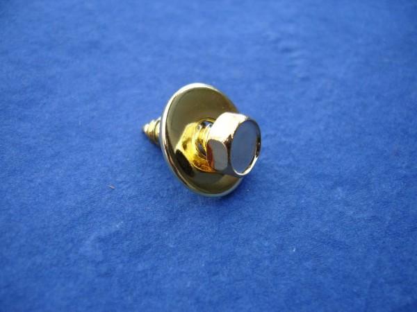 Kotflügelschraube 6,3x19mm + 20mm U-Scheibe Edelstahl vergoldet