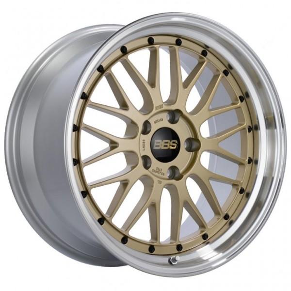 BBS Alufelge LM 10x18 LK 5x130 ET50 NB 71,6 gold diagedreht LM286