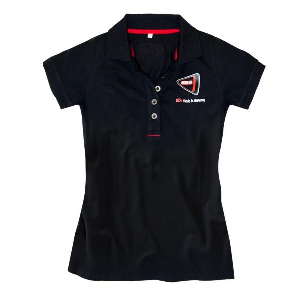 BBS Poloshirt Damen schwarz