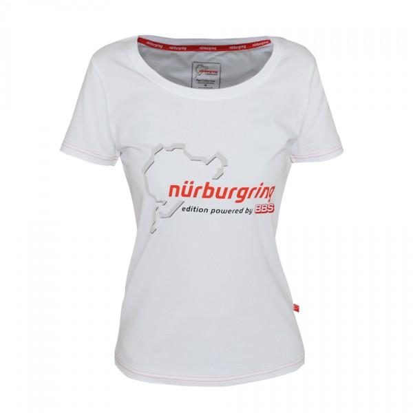 BBS Nürburgring Edition T-Shirt weiß Damen