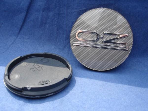 4er Set OZ Racing Nabenkappe Classic Grey 81310469