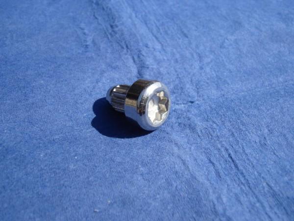 Zierstopfen D7 x10 Edelstahl poliert