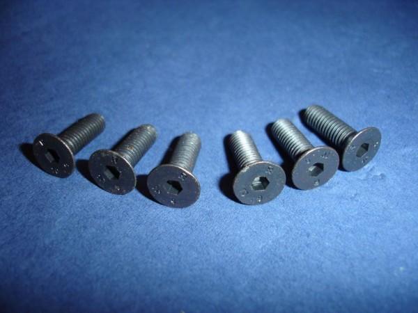 Lenkradschrauben Momo, Supersport, Jamex, Victor, OMP 5x16mm schwarz