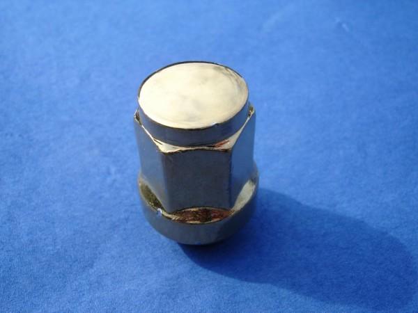 * Radmutter M12x1,5 x34mm vergoldet geschlossen