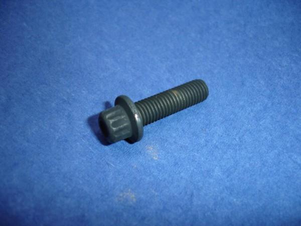 80er Set * Felgenschraube M7x24 12Kant Edelstahl Schwarz-Chrom