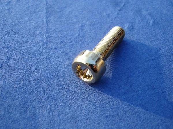 80er Set Felgenschraube M7x24,5 Sonderedelstahl vergoldet