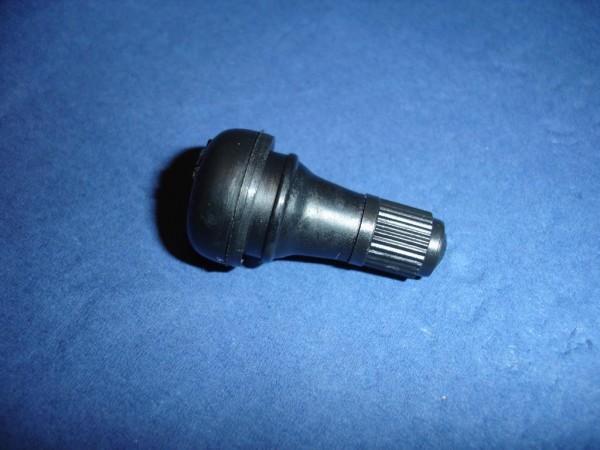 Gummiventil schwarz 11,3mm Länge 36mm TR412