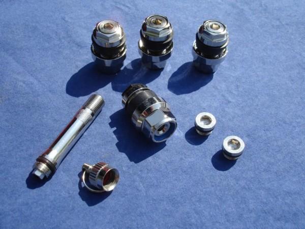 Unsichtbare Metallventile 11 mm 1VPE TÜV geprüft