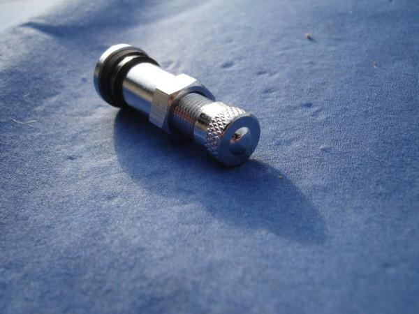 Metall Ventil 8,3 mm L38,5mm BBS,OZ Felgen Chrom