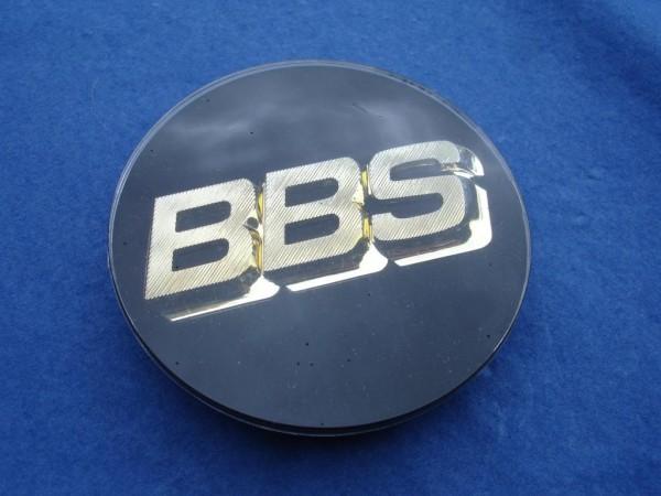 BBS Emblem Schwarz Gold 80mm 3D 56.24.038 für RC, RS & Super RS