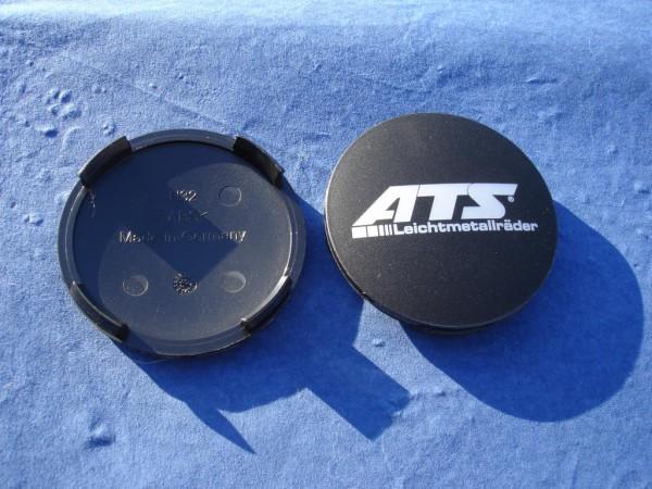 ATS Nabenkappe N32 schwarz matt ATS Logo