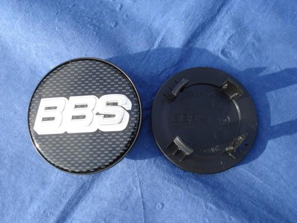 BBS Emblem Carbon/Chrom 64,5mm 09.24.704 Porsche Macan CH-R II, SR