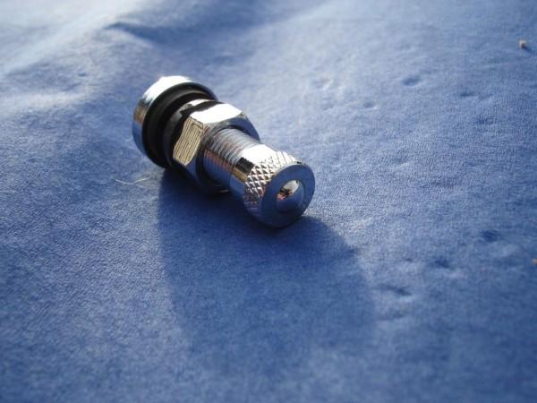 4er Set Metall Ventil 8,3 mm L26mm BBS,OZ Felgen Chrom