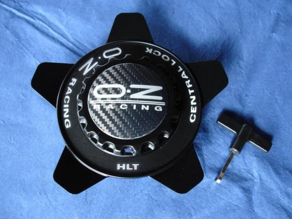 OZ Felgendeckel sw + schwarzer Ring 81210331 62mm Formular HLT Zentralverschluss Optik M671