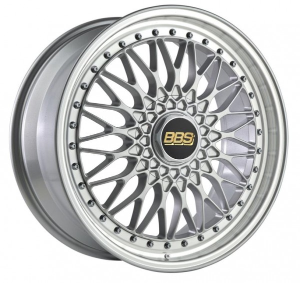 BBS Alufelge Super RS 8,5x20 LK 5x112 ET45 NB 82,0 PFS brillantsilber diagedreht RS564