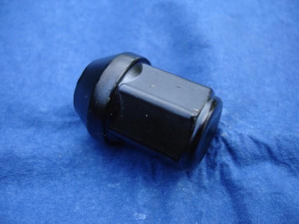 Radmutter M14x1,5x29 zu schwarz beschichtet