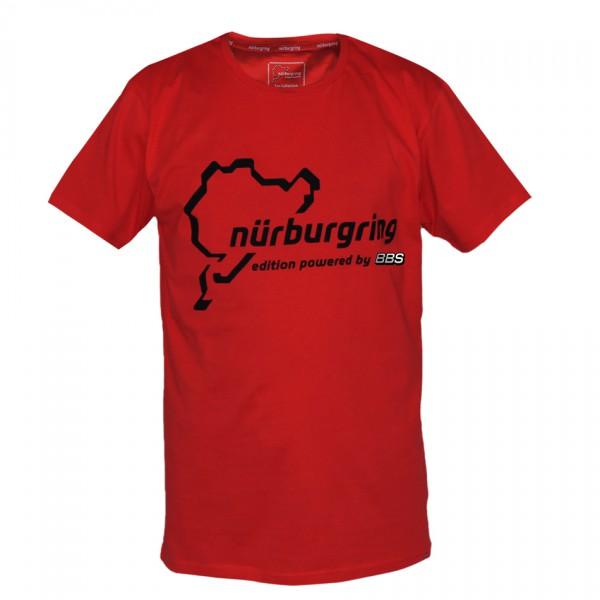 BBS Nürburgring Edition T-Shirt Rot Herren