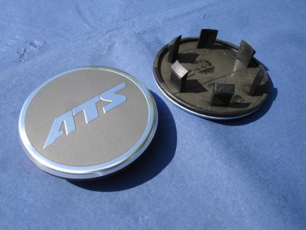 ATS Nabenkappe N44 für Porsche anthrazit mit Chrom Schrift