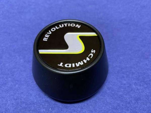 Schmidt Revolution Nabenkappe SC2 Satin Black-Schwarz