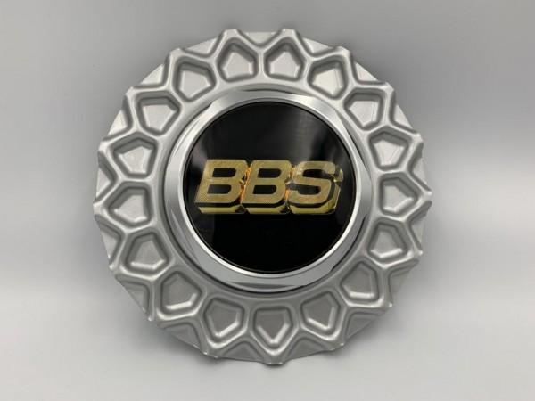 BBS Super RS Wabendeckel Silber 10022221 incl. Sechskant & Emblem