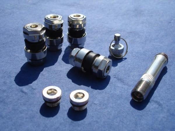 Unsichtbare Metallventile 8,3 mm 1VPE TÜV geprüft OptiVent