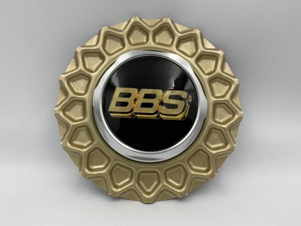 BBS Super RS Wabendeckel Gold 10022220 incl. Sechskant & Emblem