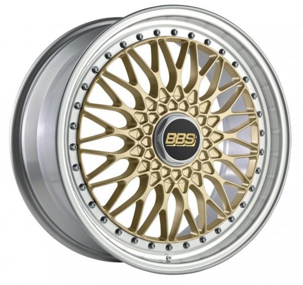 BBS Alufelge Super RS 8,5x20 LK 5x112 ET45 NB 82,0 PFS gold diagedreht RS564
