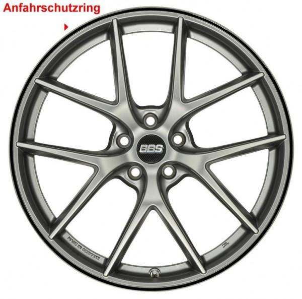BBS Anfahrschutz Edelstahl CH-R, CH-RII, CC-R, CI-R & RX-R 20 Zoll 10024252 Schwarz